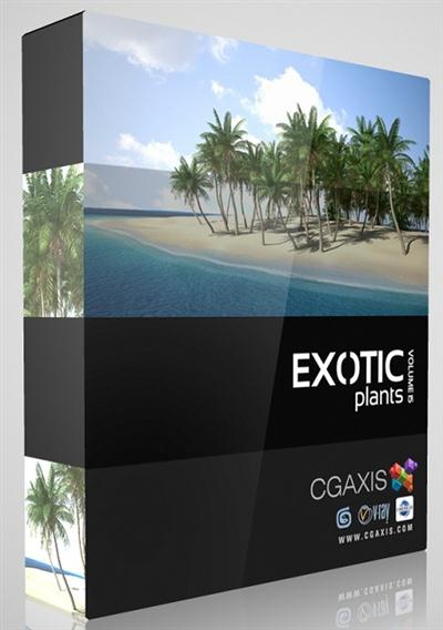 CGAxis Models V15 Exotic Plants