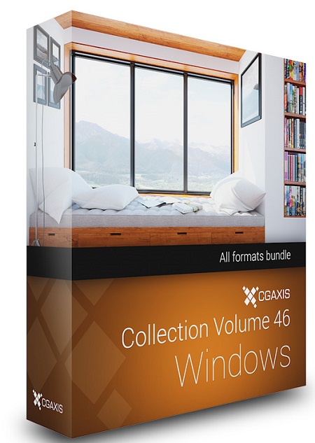 CGAxis Models Volume 46 3D Windows