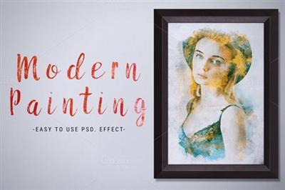 CreativeMarket - Modern Painting Template