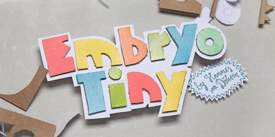 Embryo Tiny Font Family