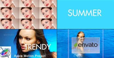 Fast And Dynamic Slideshow - Apple Motion Template (Videohive)