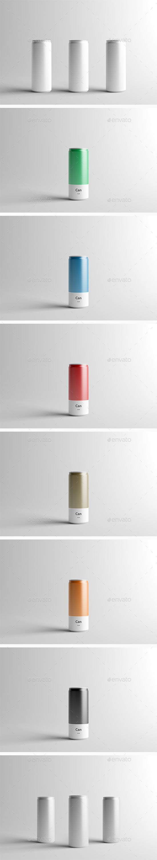 GraphicRiver - Can Mock-Up - 250ml 16708481