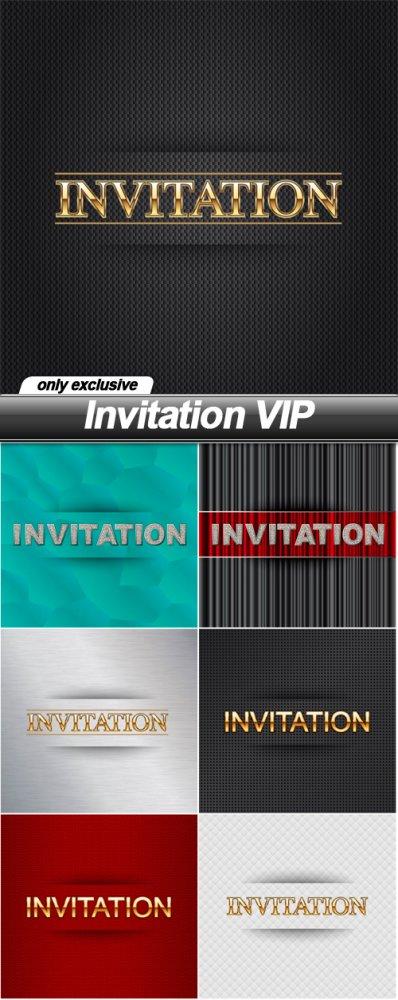Invitation VIP