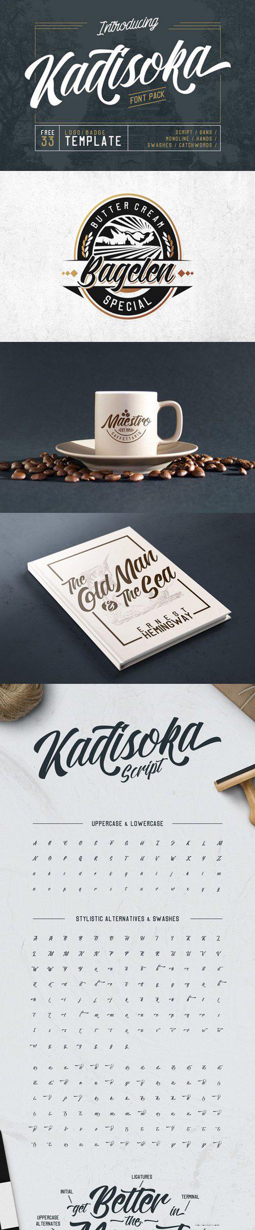 Kadisoka Font Pack