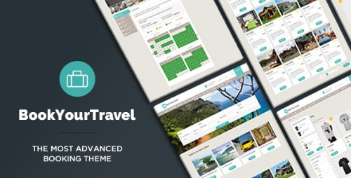 Nulled Book Your Travel v7.16 - Online Booking WordPress Theme