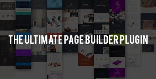 Nulled Divi Builder v1.3.10 - Drag & Drop Page Builder Plugin product photo