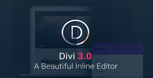 Nulled Divi v3.0.4 - ElegantThemes Premium Theme