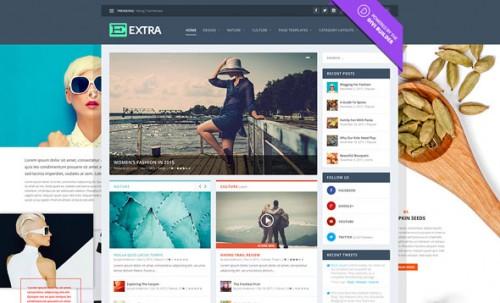 Nulled Extra v2.0 - Elegantthemes Premium WordPress Theme visual