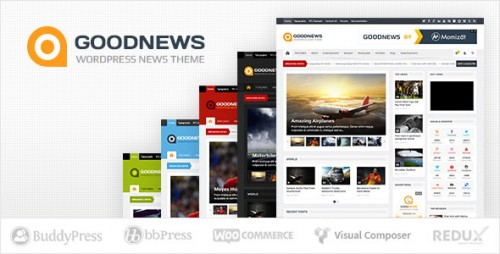 Nulled Goodnews v5.8.5.1 - Responsive WordPress News Magazine