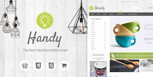 Nulled Handy v4.10 - Handmade Shop WordPress WooCommerce Theme snapshot