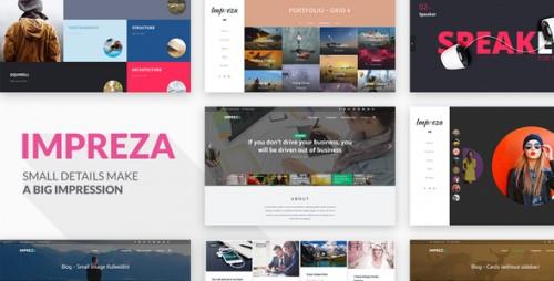 Nulled Impreza v3.5 - Retina Responsive WordPress Theme pic