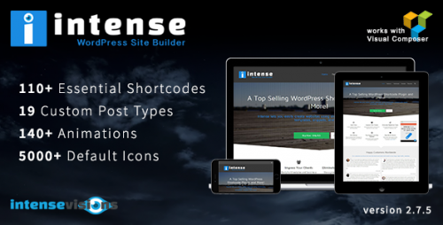 Nulled Intense v2.8.0 - Shortcodes and Site Builder for WordPress product photo