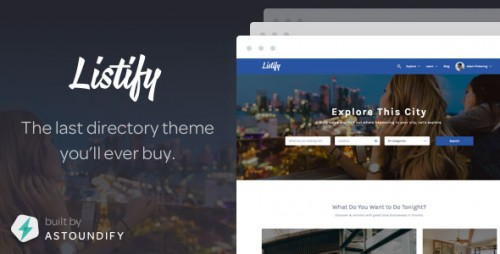 Nulled Listify v1.7.0 - Themeforest WordPress Directory Theme image