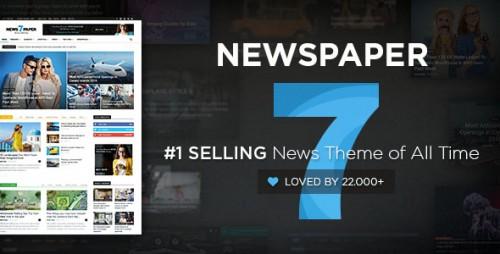 Nulled Newspaper v7.4 - WordPress News Theme