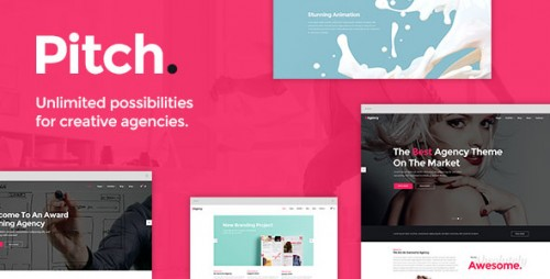 Nulled Pitch v1.6 - A Theme for Freelancers and Agencies program