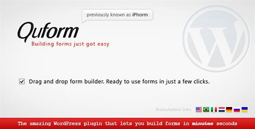 Nulled Quform v1.7.10 - WordPress Form Builder
