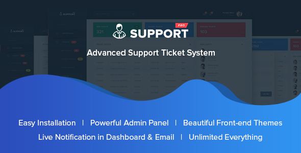SupportPro - Advanced Support Ticket System