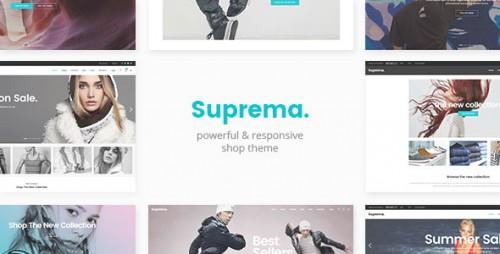 Nulled Suprema v1.3 - Multipurpose eCommerce Theme logo