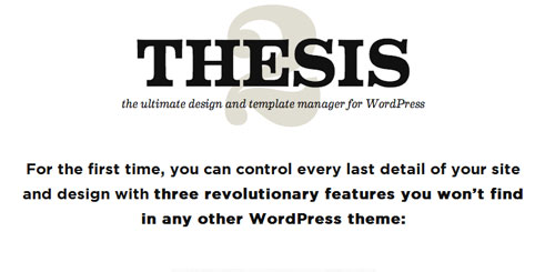 Nulled Thesis v2.1.9 - WordPress Framework snapshot