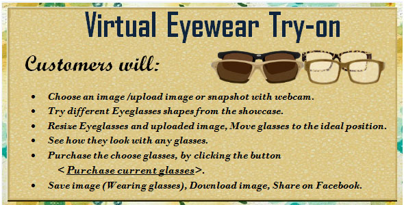 Virtual Eyewear Try-on