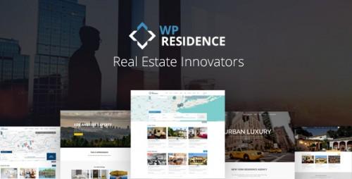 Nulled WP Residence v1.17 - Real Estate WordPress Theme