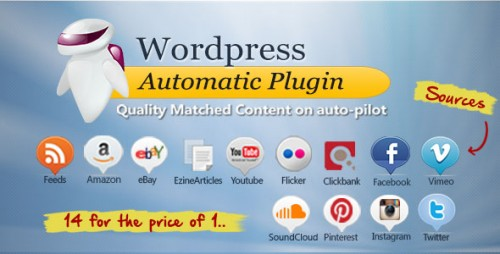 Nulled WordPress Automatic Plugin v3.23.0 product cover