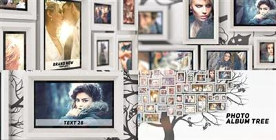 Photo Album Tree - Project for After Effects (Videohive)