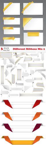 Vectors - Different Ribbons Mix 2