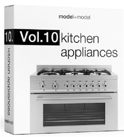 model+model: Vol.10 Kitchen appliances 3d models