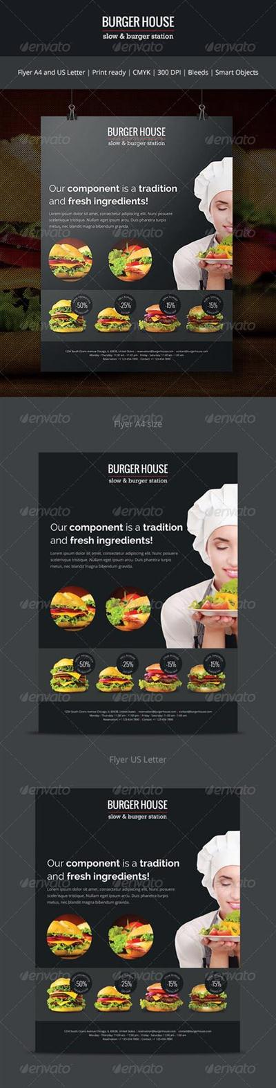 Burger House - Flyer 7059620
