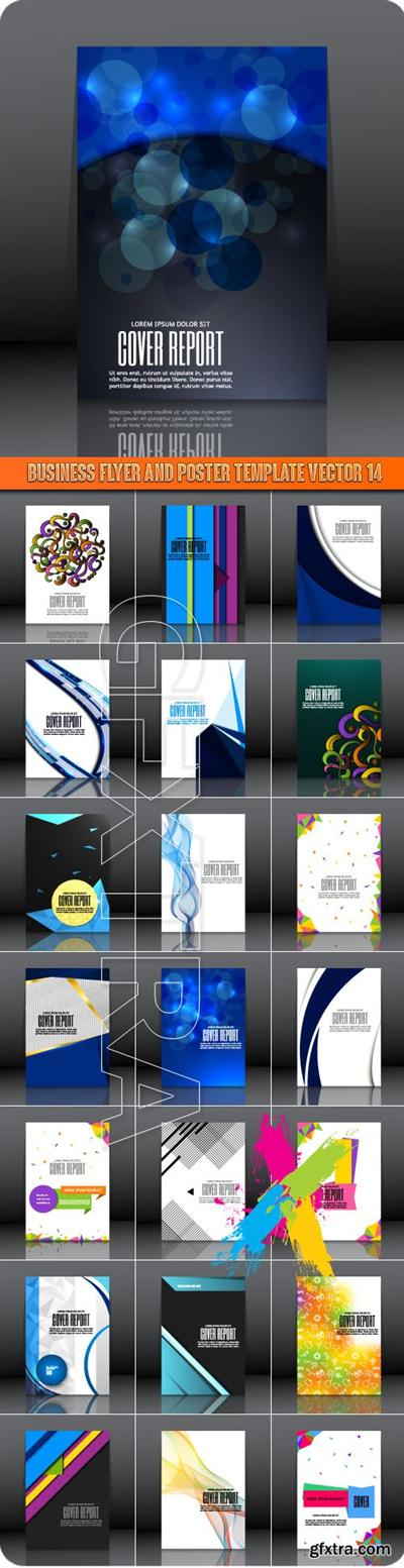 Business Flyer and Poster Template Vector 14