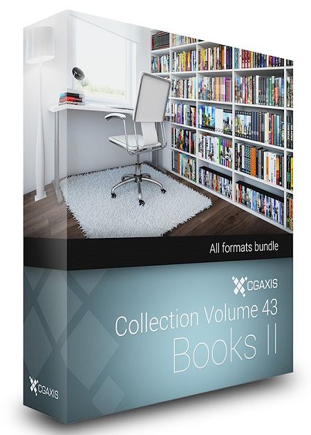 CGAxis Models Volume 43 Books II