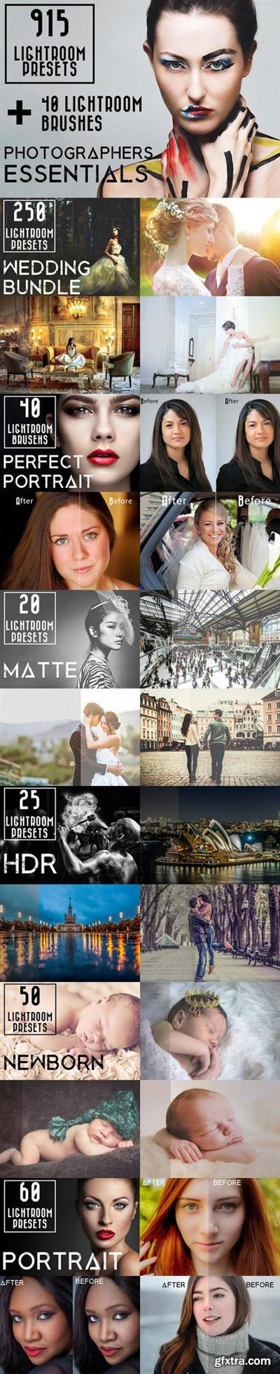 CM - 915 Lightroom Preset Bundle 895441