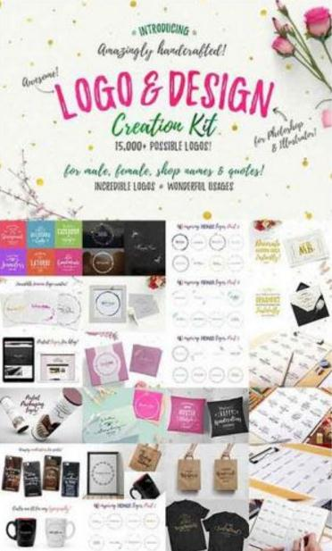 CreativeMarket - Awesome Logo and Design Creation Kit