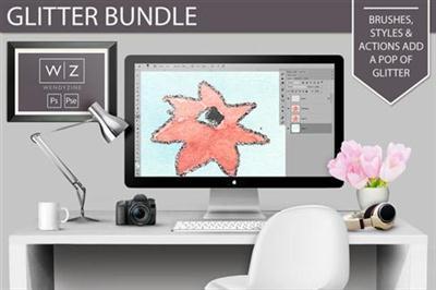 CreativeMarket - Glitter Bundle