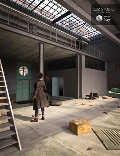 DAZ3D - Franklin Square Loft
