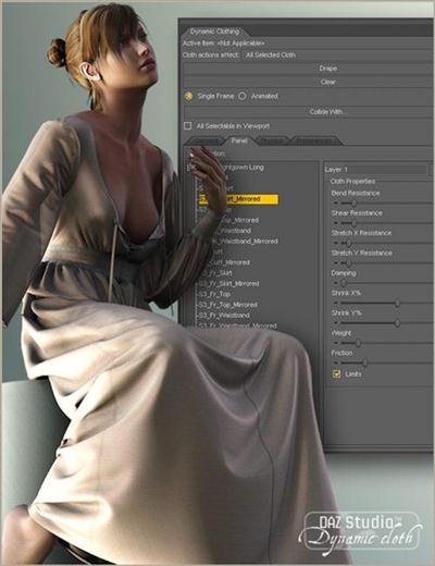 Daz3d - OptiTex Dynamic Clothing Control v1.3.0.15 Win64