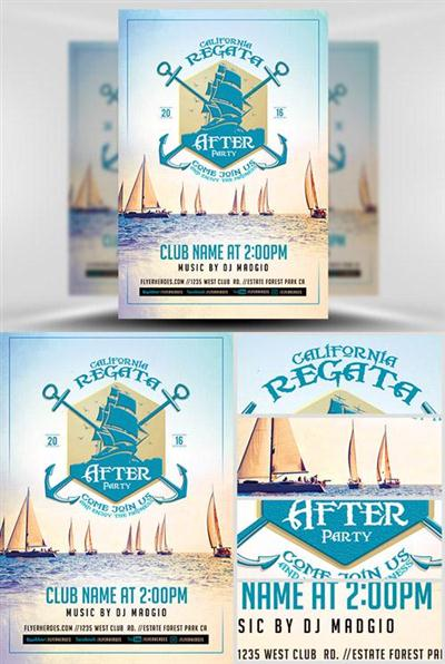Flyer Template - Regata After Party