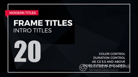 Frame Titles 2 - Project for After Effects (Videohive)