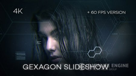 Gexagon Slideshow - Project for After Effects (Videohive)