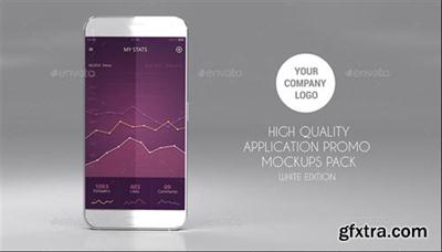Graphicriver - 15 App Promo Mock Ups Pack (White Edition) 17568243
