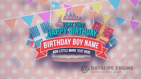 Happy Birthday Slideshow - After Effects Templates