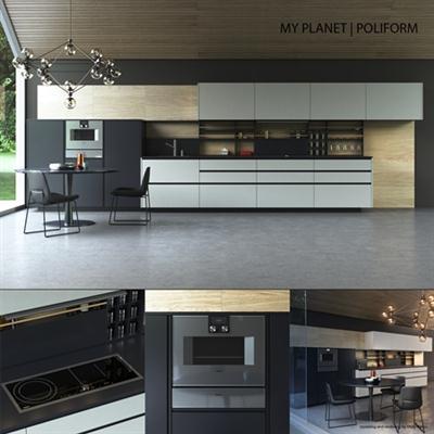 Kitchen Poliform Varenna My Planet