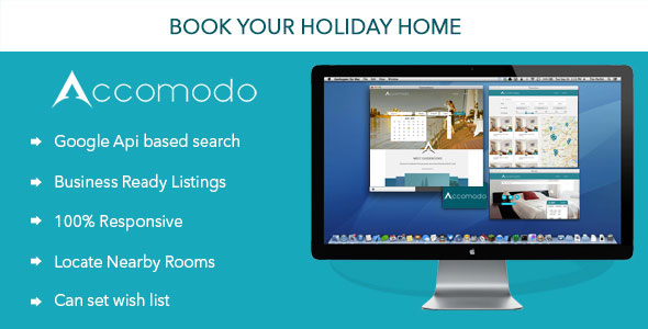 Accomodo - Book your Accommodation Online