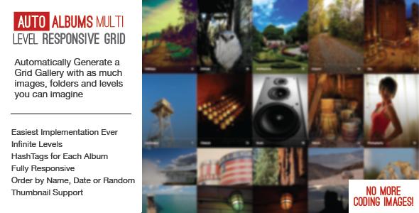 Auto Photo Albums – Multi Level Image Grid