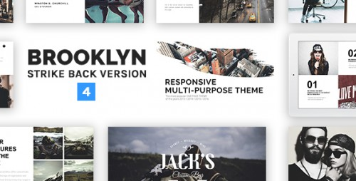 Nulled Brooklyn v4.2 - Responsive Multi-Purpose WordPress Theme