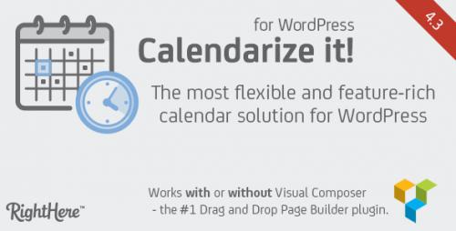 Nulled Calendarize it! for WordPress v4.3.4.74102