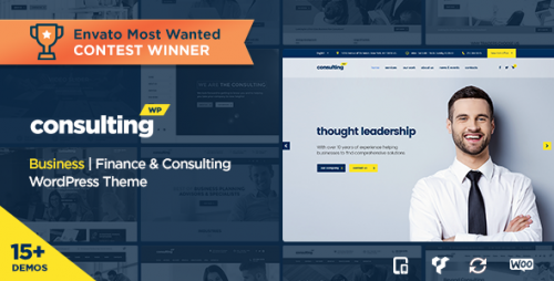 Nulled Consulting v3.4 - Business, Finance WordPress Theme download