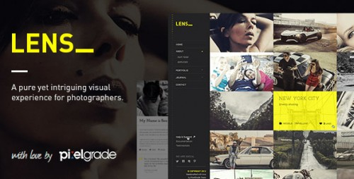 Nulled LENS v2.4.5 - An Enjoyable Photography WordPress Theme file