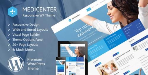 Nulled MediCenter v8.3 - Responsive Medical WordPress Theme product image